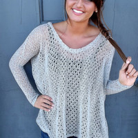 Light Gray Piko Knit | The Rage