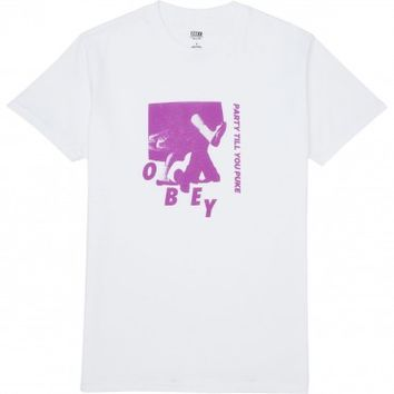 Obey Party T-Shirt - White