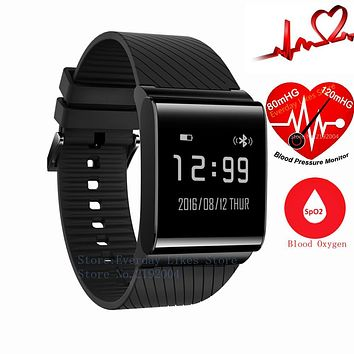X9 Plus Blood Betreasure Bluetooth Smart Wristband Blood Oxygen Smart fitness Bracelet Heart Rate Monitor Smartband Waterproof