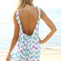 SABO SKIRT  Zig Zag Bubble Dress - $48.00
