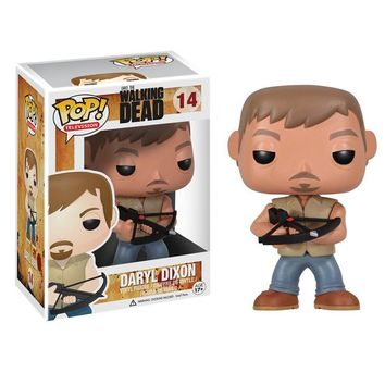 1Pcs Funko POP Television Walking Dead Daryl Dixon Michonne Vinyl Action Figure Model With Original Box WJ552