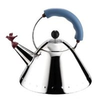 Alessi Michael Graves Kettle with Small Bird Shaped Whistle