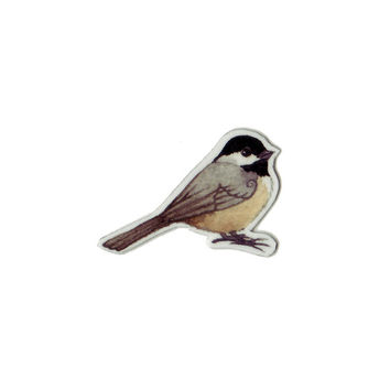 Carolina Chickadee Bird Magnet