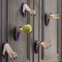 Set of Two Wall-mount Halloween Spooky Hands - Grandin Road