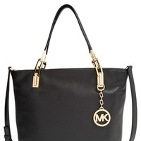 Women's MICHAEL Michael Kors 'Medium Brooke' Leather Tote