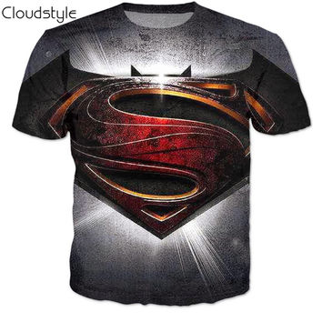 [Free Shipping] Batman Vs Superman 3D Shirt