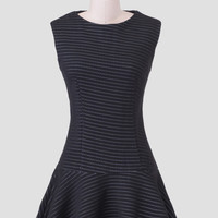City Overlook Drop Waist Dress