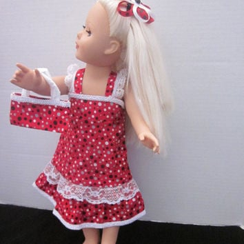 American Girl 18 Inch Doll Dress Doll Clothes Baby Doll Clothes Our Generation Dolls My Life Dolls By Sweetpeas Bows & More