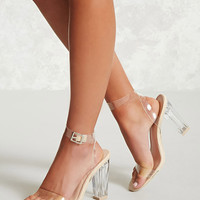 Clear Ankle Strap Heels