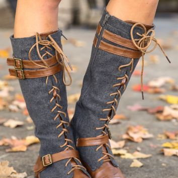 Across The Pond Boots