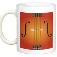 Violin, viola, cello or bass mug