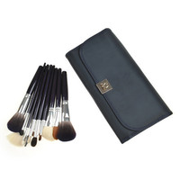 Wool Black Luxury 15-pcs 5-pcs Hot Sale Make-up Brush = 4831021188