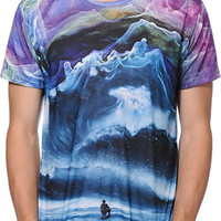 Imaginary Foundation Peaks Sublimated Tee Shirt