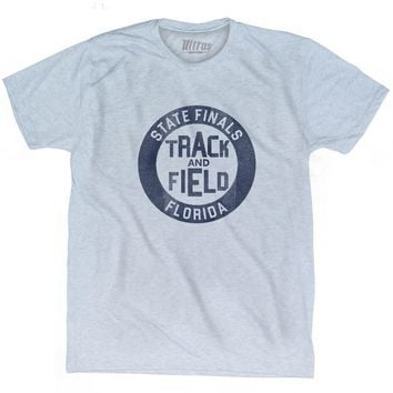 Florida State Finals Track and Field Adult Tri-Blend T-shirt
