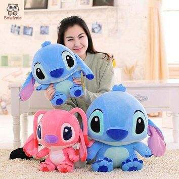 BOLAFYNIA Stitch Lilo & Stitch plush toy doll children Stuffed toy for baby kids birthday Christmas gift