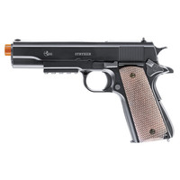 COMBAT ZONE STRYKER 1911 AIRSOFT PISTOL 400 BBS INCLUDED 260 FPS