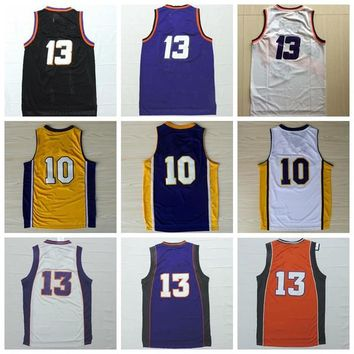 Best Quality #13 #10 Men Sports Wear 2016 Classical Basketball Jerseys Cheap Shirts Rev 30 New Material Stitched With Player Name Team Logo