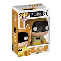 Yellow Rainbow Batman 75th Anniversary POP! Heroes #01 Exclusive Vinyl Figure
