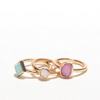 With Love From CA Pastel Stackable Rings at PacSun.com