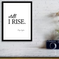 I'll rise #minimalism 2 by Andrea Anderegg Photography