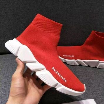 ❤shosouvenir❤Balenciaga Woman Men Boots Fashion Breathable Sneakers Running Shoes