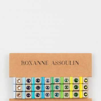 "MIRA MIKATI x ROXANNE ASSOULIN FOR LES VACANCES DE LUCIEN ""Put It In Neutral Spectrum"" Bracelets"