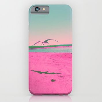 Beach Day iPhone & iPod Case by Ducky B