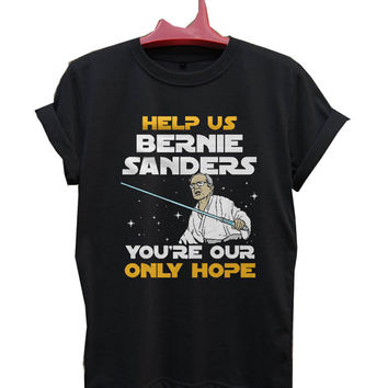 star wars bernie sanders T-Shirt Men, Women and Youth size S-2XL