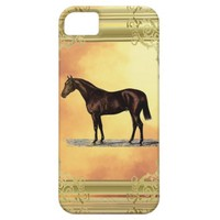 Brown Horse iPhone SE/5/5s Case
