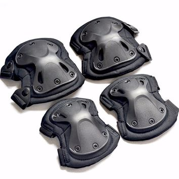 4pcs/set of kneepad CS tactical protective gear