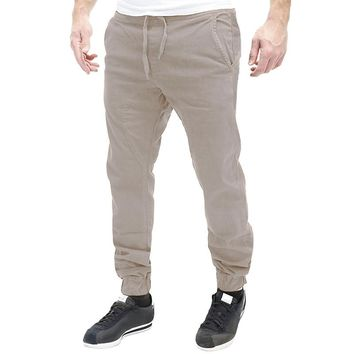 Mens Autumn Fashion Straight Sweatpant Harem Cotton Casual Pants Jogger Stretch Tracksuit Loose Men Long chinos Trousers 3XL