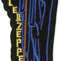 Led Zeppelin Iron-On Patch Stairway Figure Logo