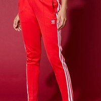 adidas Adicolor Red SST Track Pants at PacSun.com