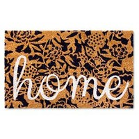 "Doormat Floral Home - Navy - (1'6""x2'6"") - Threshold™"