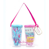 Lilly Pulitzer MMB/RRR Insulated Tumbler Set