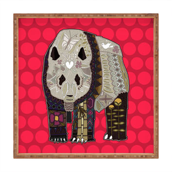 Sharon Turner Chocolate Panda Square Tray