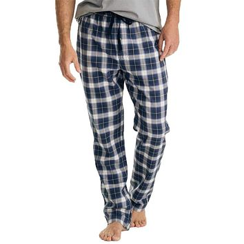 Plaid Flannel Lounge Pant by Southern Tide