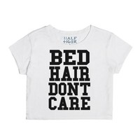 Bed Hair-Unisex Snow T-Shirt