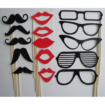 Photo Booth Props  15Pcs/set