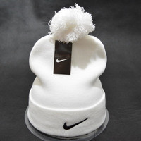 NIKE Winter Outdoor Leisure Tab Keep Warm knitting Cap
