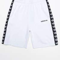 adidas TNT Tape White and Black Active Drawstring Shorts at PacSun.com