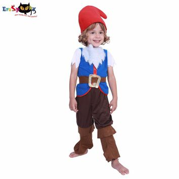 Cool Eraspooky halloween costumes for kids Baby cute Girl kids costume halloweens mushroom elf costumes Boy Child Christmas CosplayAT_93_12