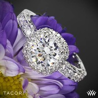 Style photo of Tacori Blooming Beauties Diamond Engagement Ring | 3294