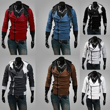 Assassins Creed Hoodies - Assassin Creed EZIO Cosplay Jacket 7Colors Mens Assassin Creed Hoodies Sweatshirt Costume