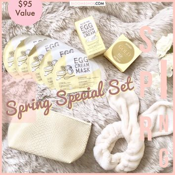 [Spring Special] TOO COOL FOR SCHOOL EGG Mask and Cream Set