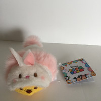Disney Store Japan 2017 Winnie the Pooh Easter Bunny Tsum Plush New with Tags