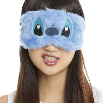 Disney Lilo & Stitch Fuzzy Sleep Mask