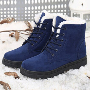 Snow Winter Ankle Boots