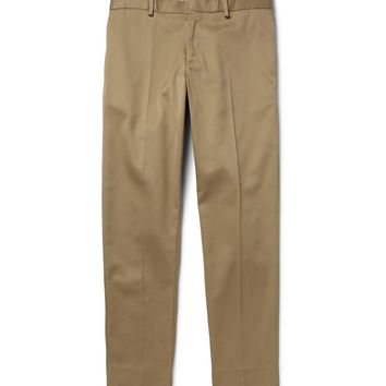 Acne Studios - Cone Tapered Cotton-Blend Twill Trousers | MR PORTER
