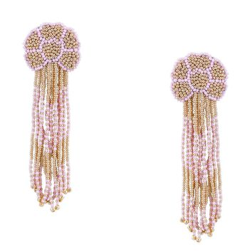 Tulipe Earrings in Pink
